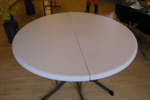 Rundt bord 8 pers. 154 cm